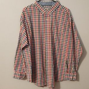 Haggar Long Sleeve Button Up